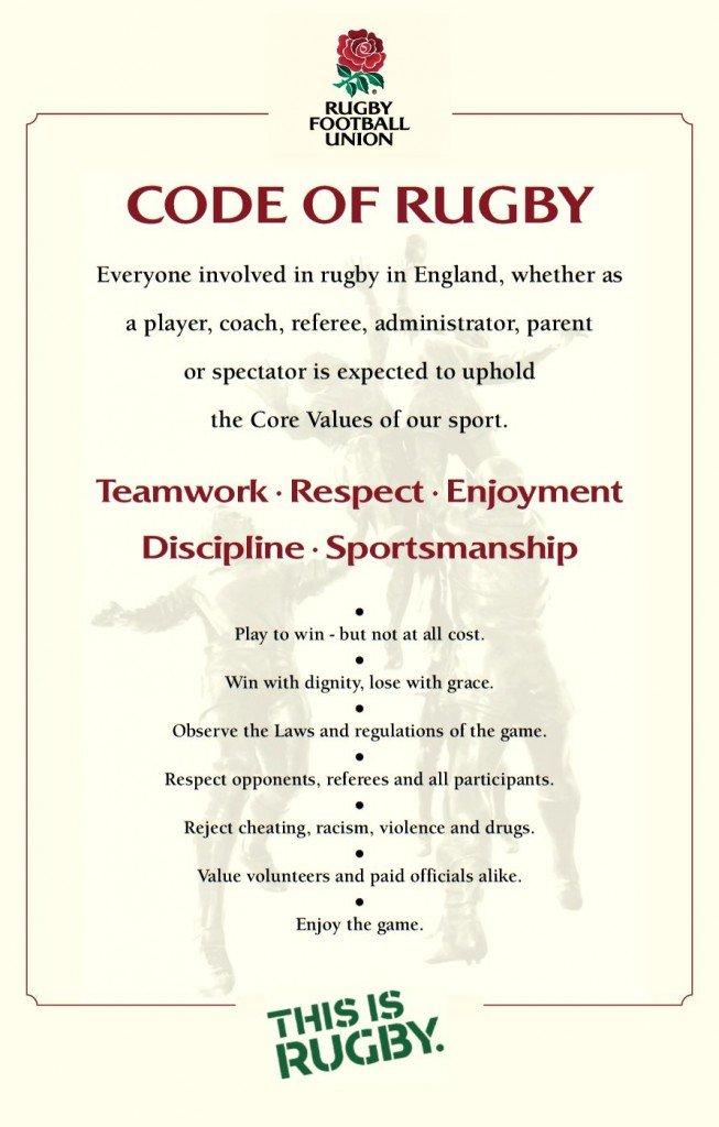 RFU Code of Rugby