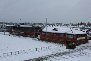 Snowy Clubhouse