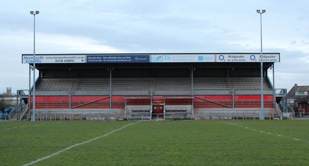 Bridgwater & Albion RFC Stand