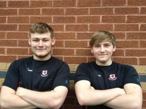 BARFC Colts David Hughes and Lewis Plece