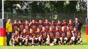BARFC Under 16's in new shirts