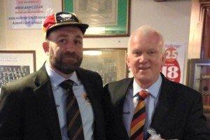 Matt Hastie gets his cap!