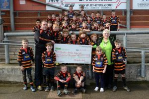 Bridgy youth team gets £800 Asda boost