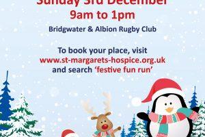 Festive Fun Run Sunday 3rd December