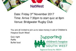 Charity Quiz Night – Friday 3rd November