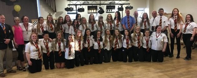 Girls Presentation Evening at Bridgwater and Albion RFC.