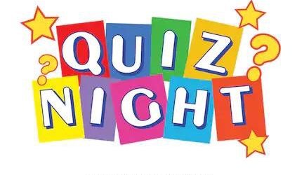Quiz Night – This Friday 7pm for 7.30pm Start