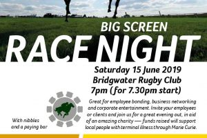 Race Night Here In Aid of Marie Curie – Saturday 15 June 2019