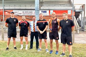 Bridgwater and Albion announce coaching team for new season