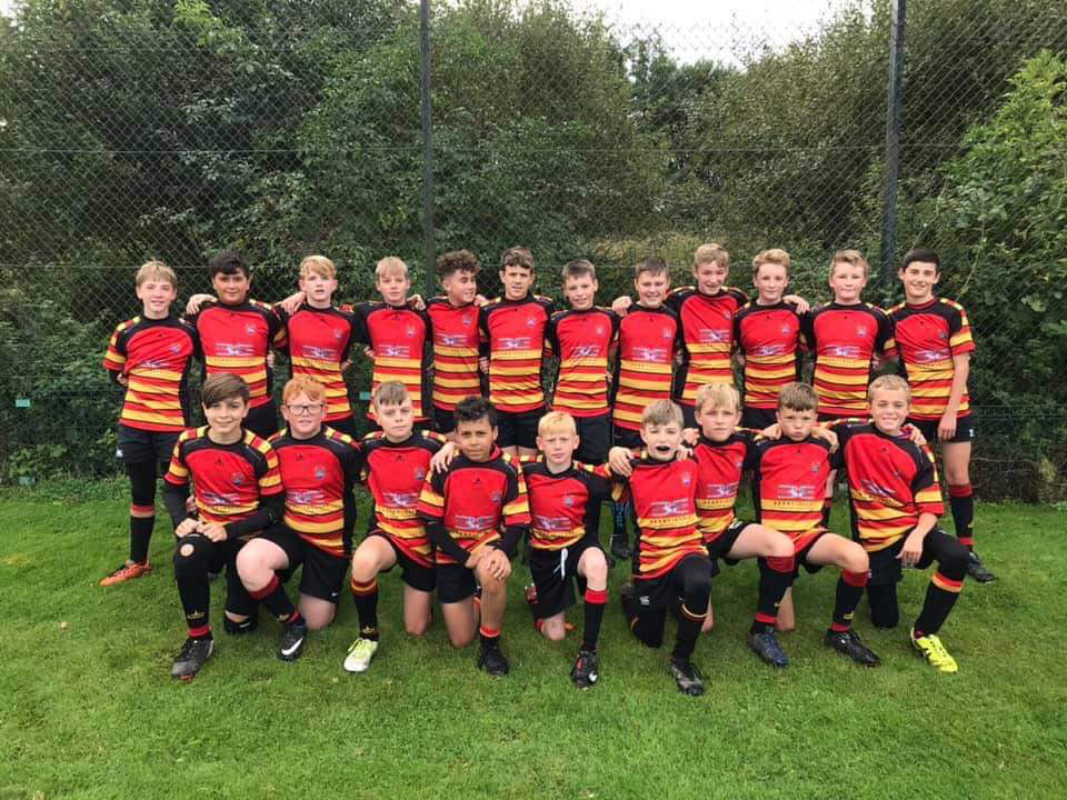 Our U13's looking fab in new kit</strong>!