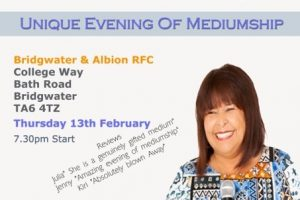 Unique Evening of Mediumship with Bernie Scott